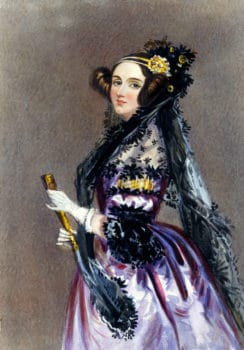 Unsere Namensgeberin Ada Lovelace