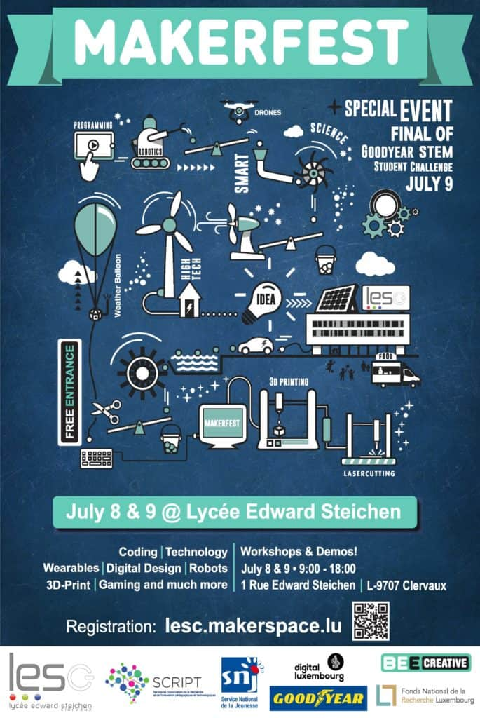 Lesc Makerfest Summer19 Flyer Invitation