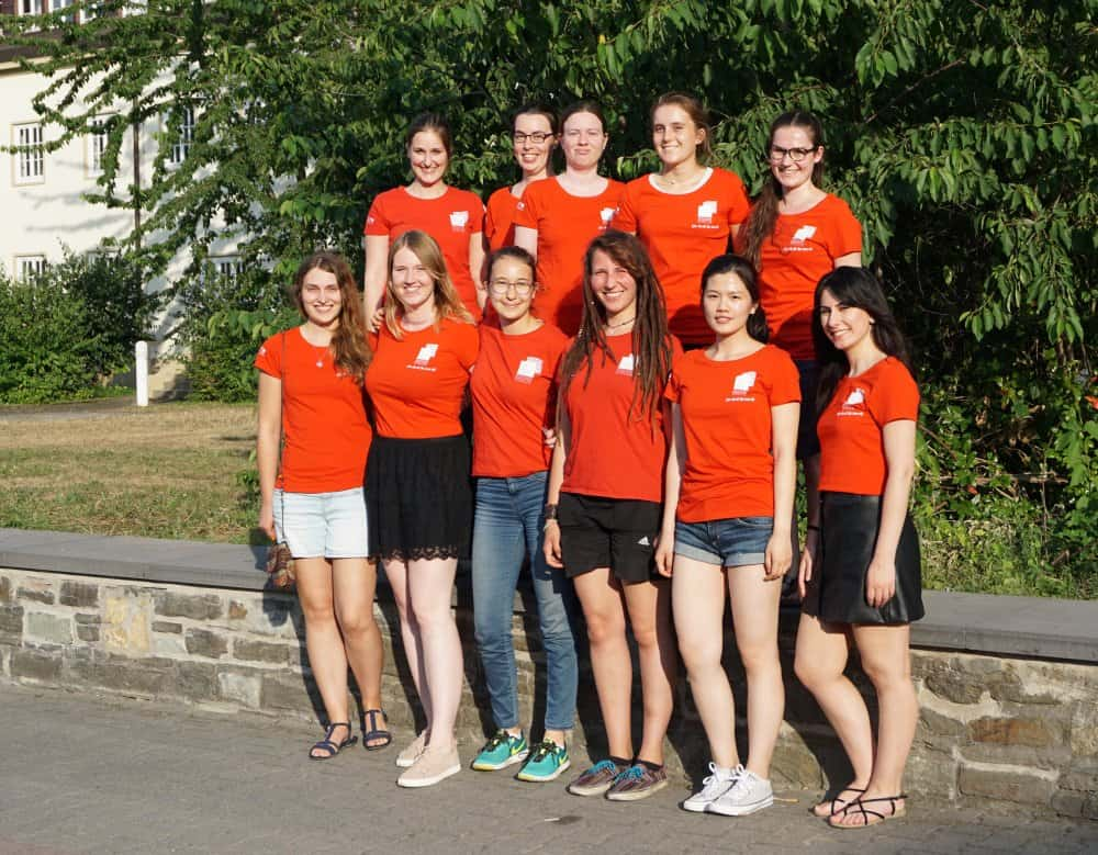 Ada Lovelace Projekt Teamfoto Mainz