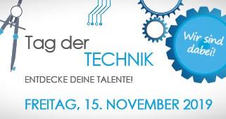 Banner Wir Sind Dabei Tag Der Technik 2019 Web