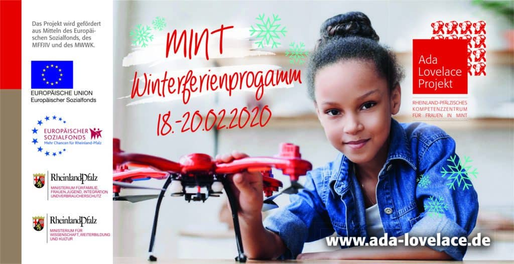 Flyer Winterferienprogramm 2020