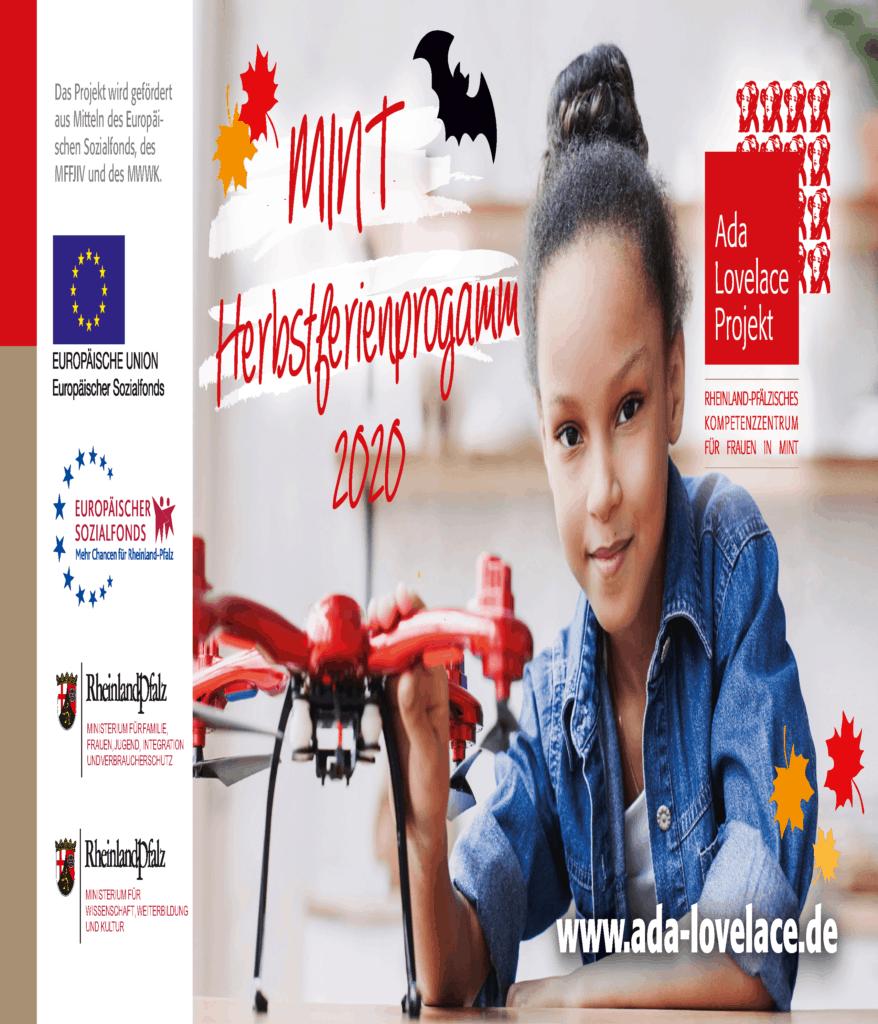 Flyer Herbstferienprogramm 2020 Seite 1