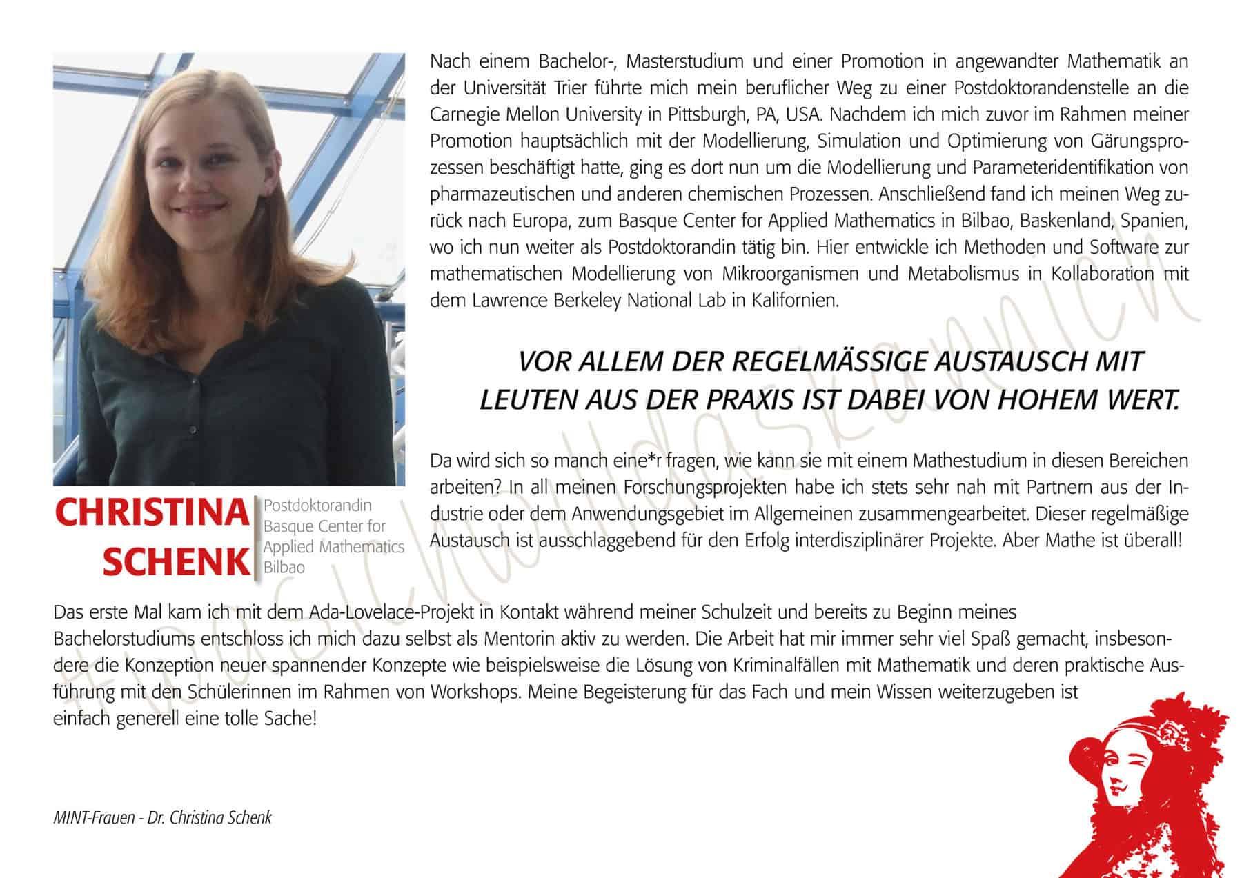 Mintfrau Christinaschenk