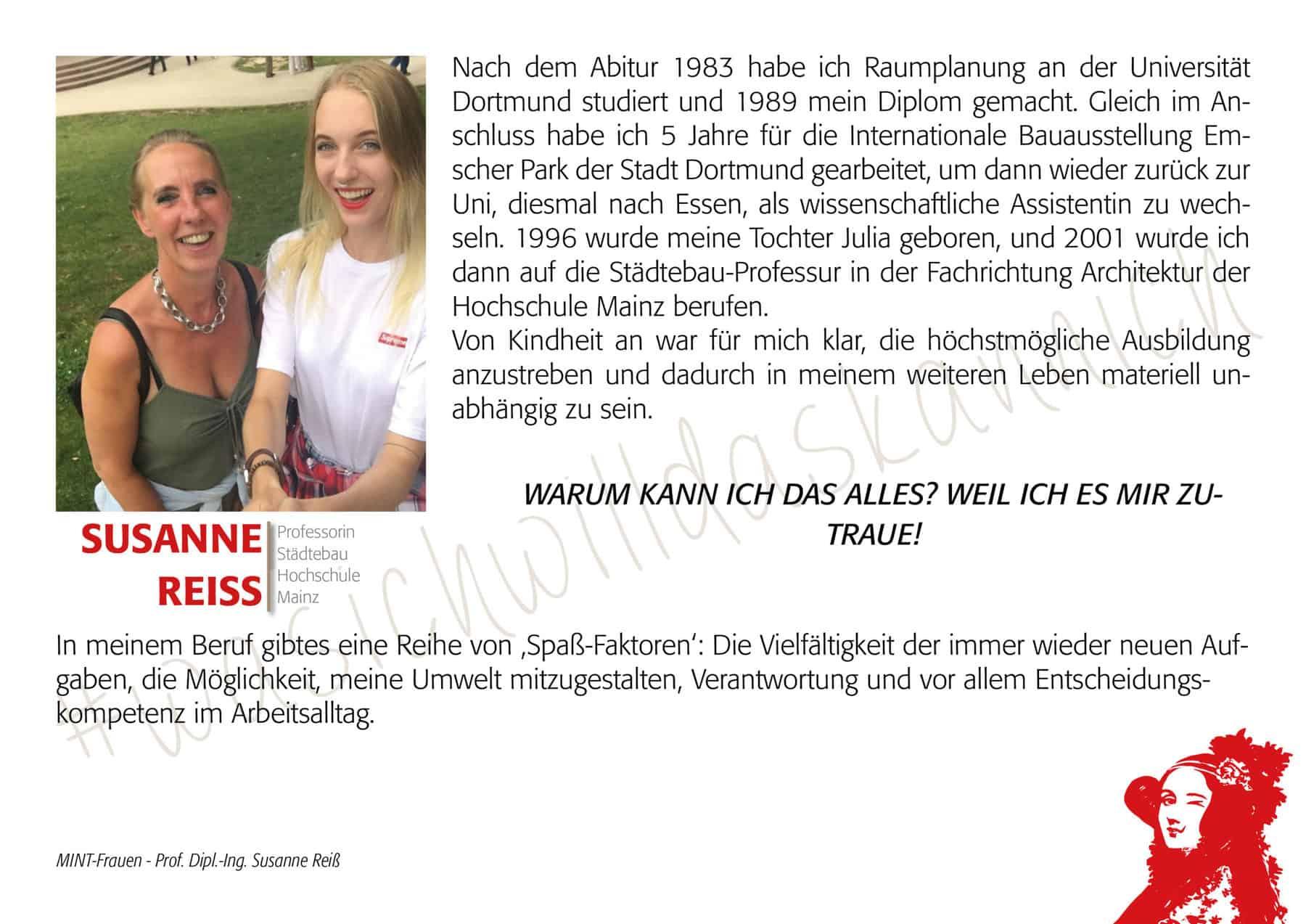 Mintfrau Susannereiß
