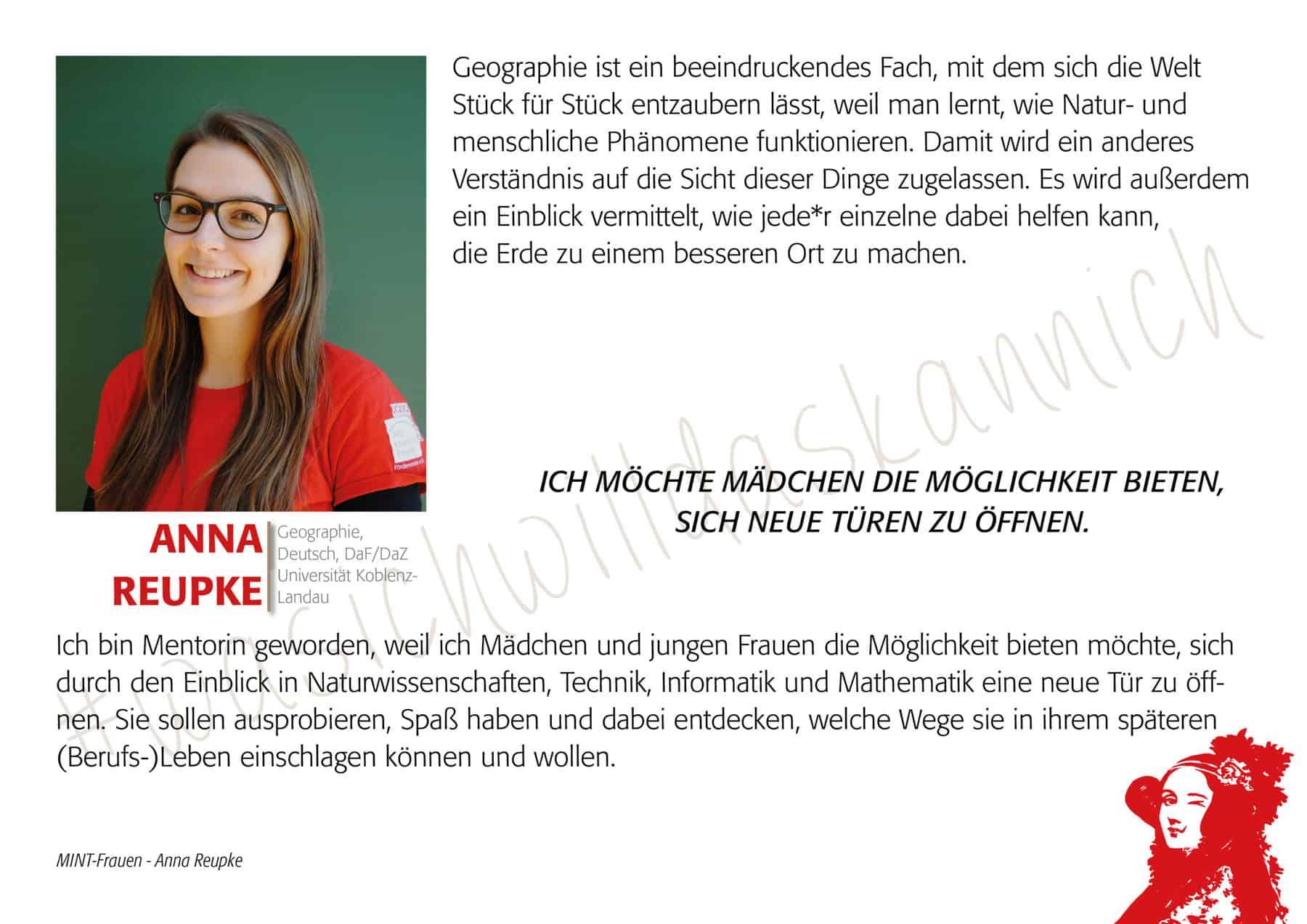 Mintfrau Annareupke
