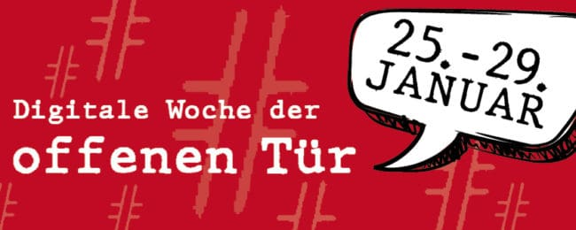 2020 12 17 Webbanner Woche Der Offenen Tuer 2021834x334px